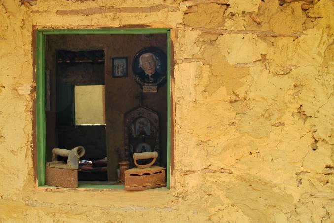 Detalhe do Museu Casa de Taipa, em São Miguel do Gostoso (foto: Eduardo Vessoni)