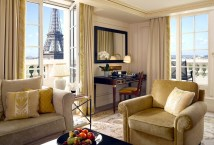 Paris Eiffel Tower View Hotel Room