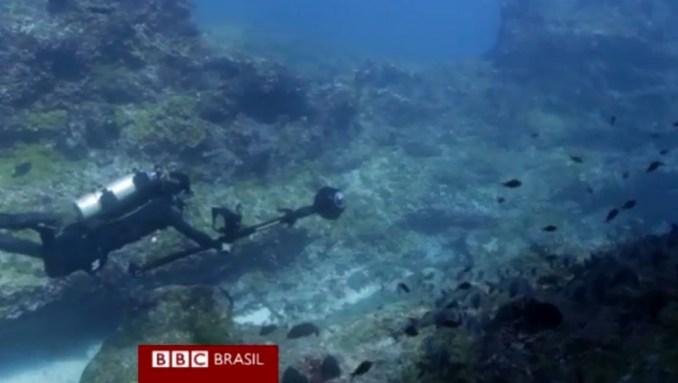 Google mapeia mares de Fernando de Noronha
