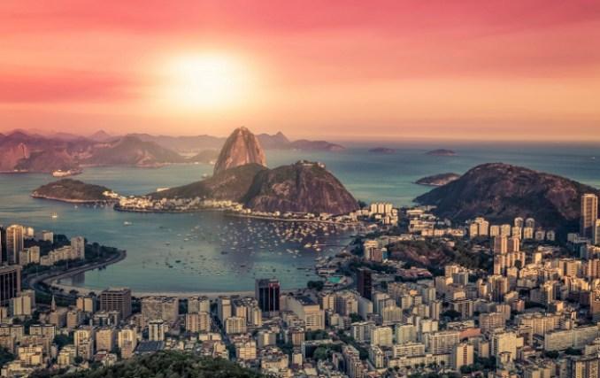 Vista aérea do Rio de Janeiro (foto: Skyscanner/Divulgação)