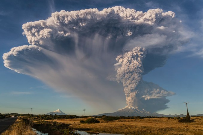 Vulcão Calbuco (foto: Domínio Público/Flickr-Creative Commons)