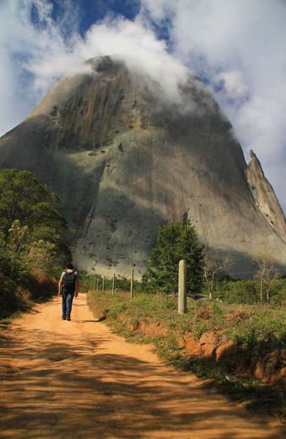 Parque Estadual da Pedra Azul, nas Serras Capixabas (foto: Eduardo Vessoni)