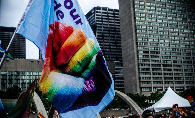 Abertura do Pride Toronto, no Canadá (foto: Divulgação)