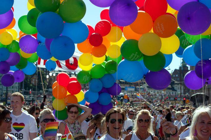 Parada gay de Estocolmo (foto: Pelle Sten/Divulgação)