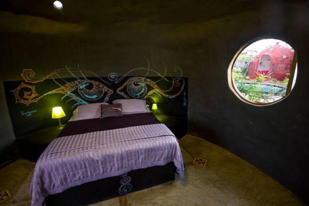 Hotel Espaço Naves Lunazen, em Alto Paraíso (foto: Jamille Queiroz/Divulgação)