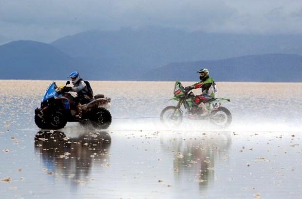Argentina, Chile e Bolívia também foram cenário do Rally Dakar, em 2015 (foto: Rally Dakar/Divulgação)