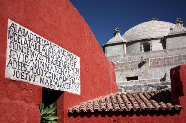 Monasterio de Santa Catalina, em Arequipa (foto: Eduardo Vessoni)
