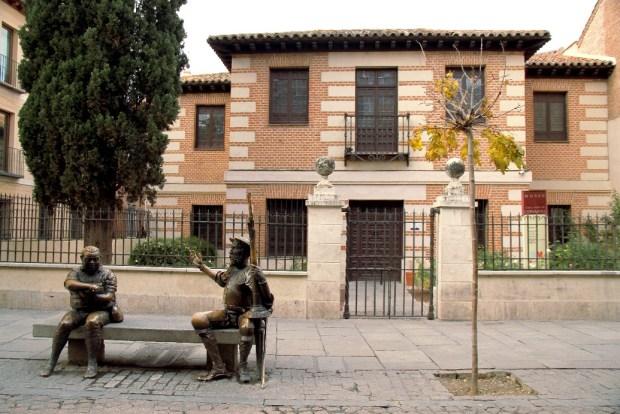 Museo Casa Natal de Cervantes, em Alcalá de Henares (foto: Eduardo Vessoni)