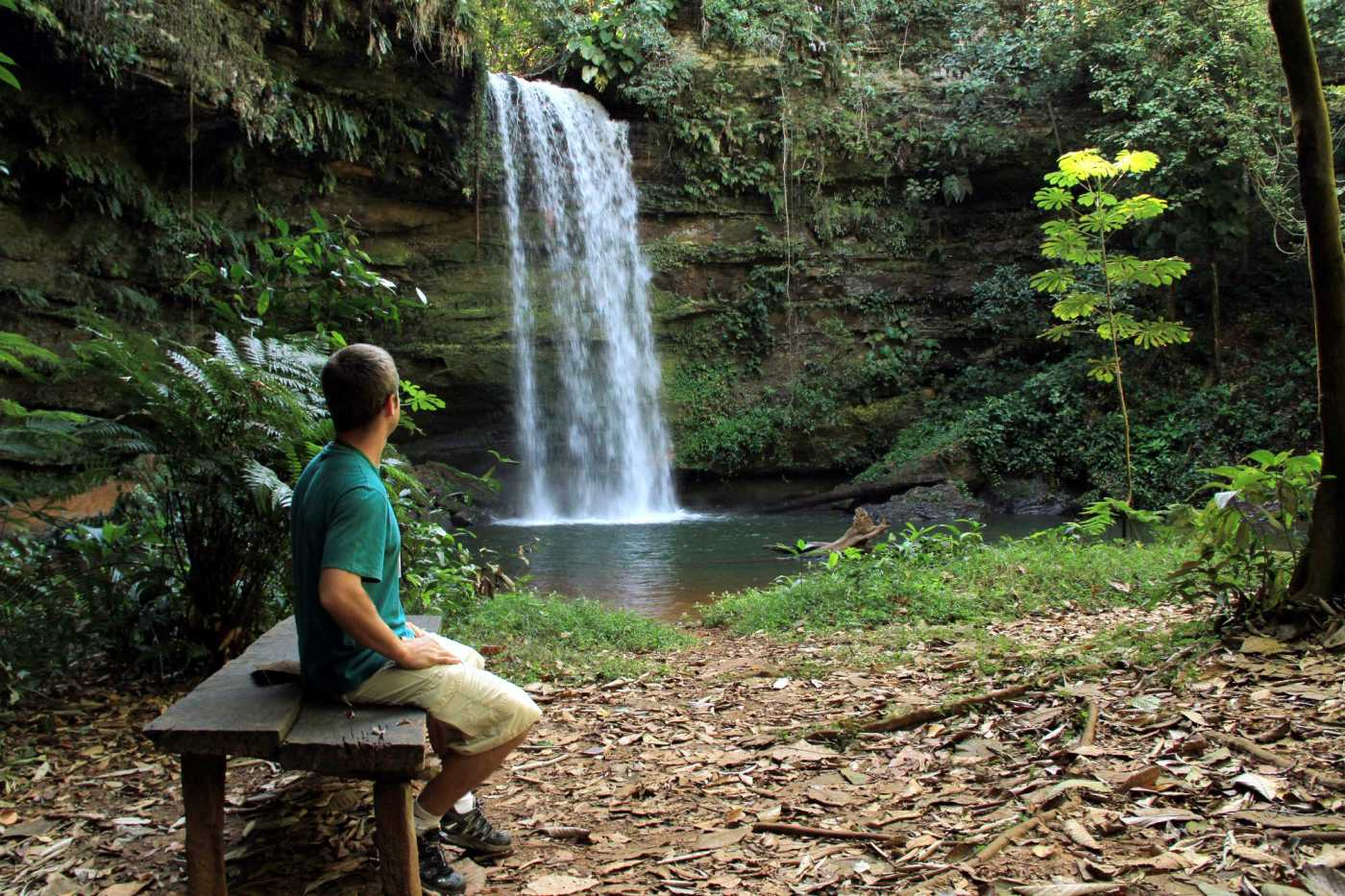 Cachoeira do Evilson, em Taquaruçu (foto: Eduardo Vessoni)