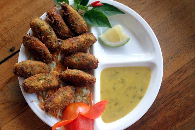 O Brasileirinho (pescada amarela com molho de tucupi e jambu) é um dos pratos do Saldosa Maloca, na Ilha do Combu, em Belém (foto: Eduardo Vessoni)