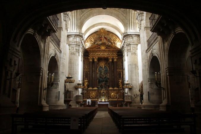 Monasterio de San Salvador de Vilanova de Lourenzá, uma das atrações do Caminho Norte de Santiago de Compostela, entre Lourenzá e Mondoñedo (foto: Eduardo Vessoni)