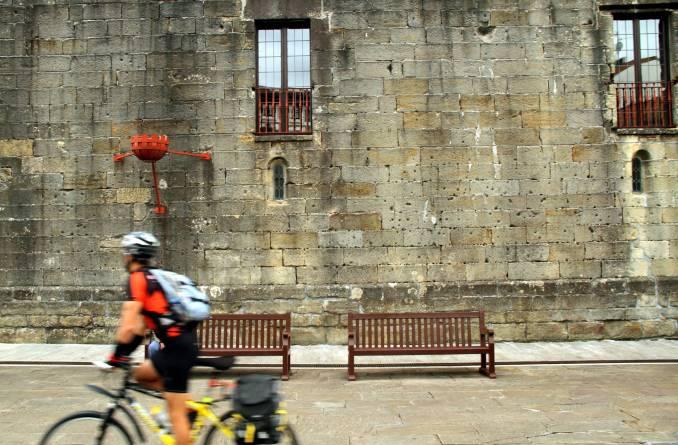 Irún e Hondarribia (foto), na fronteira com a França, são as primeiras cidades do Caminho Norte, uma caminhada de 815 km até Santiago de Compostela, no País Basco, na Espanha (foto: Eduardo Vessoni)