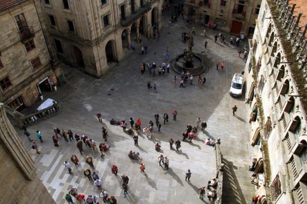 Santiago de Compostela, última etapa do 'Caminho Norte' (foto: Eduardo Vessoni)