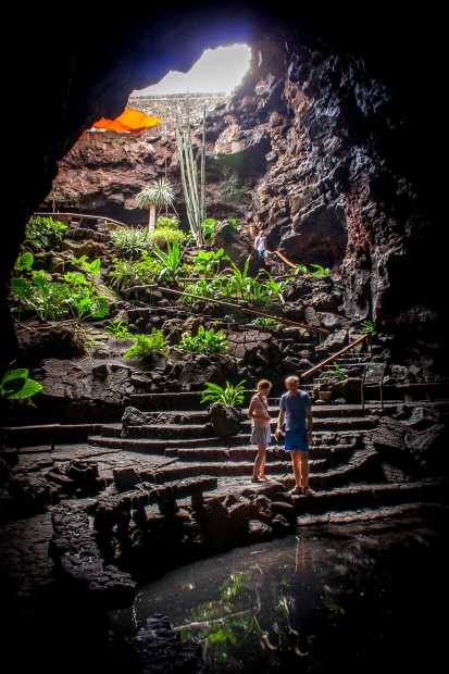 Jameos del Agua, em Lanzarote, Inas Ilhas Canárias (foto: Mike Beales/Flickr-Creative Commons)