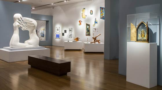 Exposicão do Museo de Arte Latinoamericano de Buenos Aires, participante da edição de 2015 da Noche de Los Museos (foto: Divulgação)