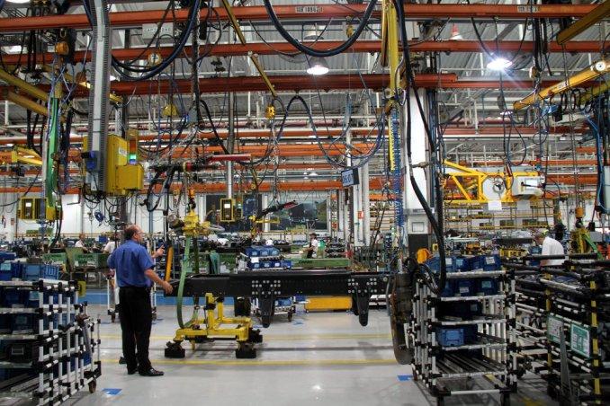 Turismo industrial na fábrica da Scania, em São Bernardo (foto: Eduardo Vessoni)