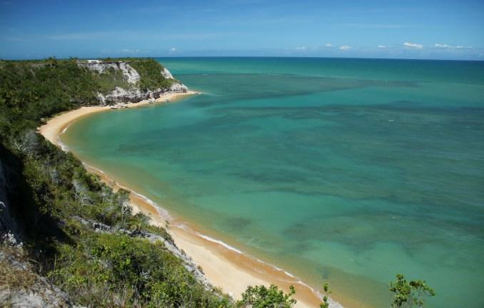 Praia do Espelho, no sul da Bahia (foto: Eduardo Vessoni)