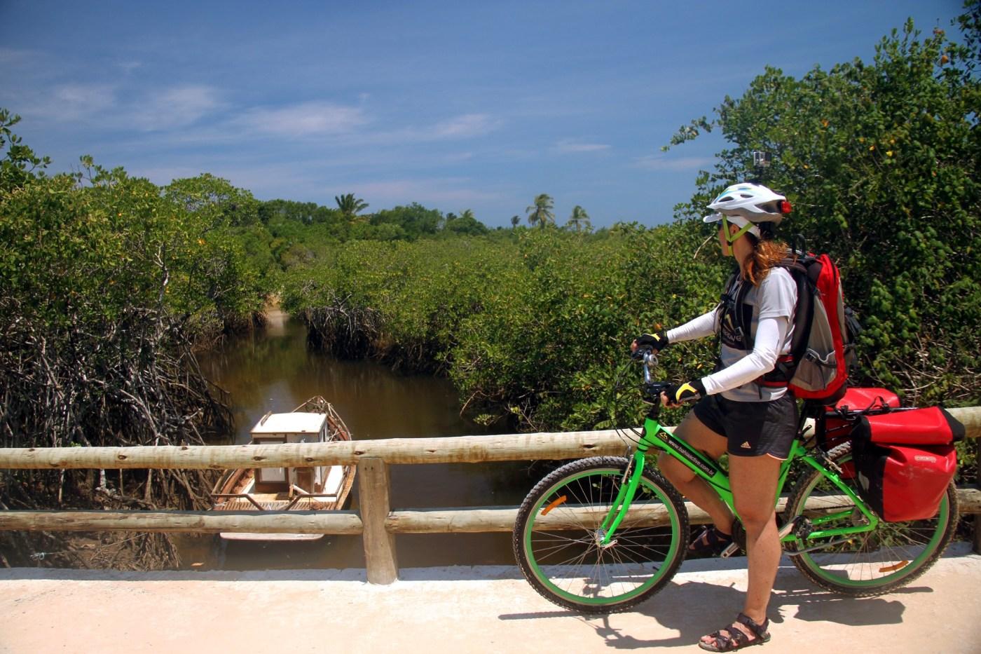 Vista do Rio Trancoso, no sul da Bahia (foto: Eduardo Vessoni)