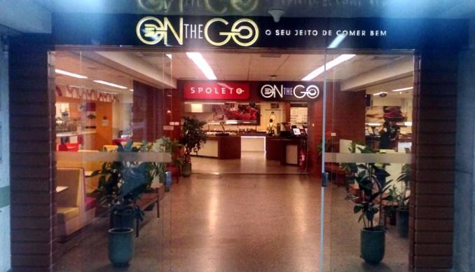 On the Go, no desembarque do Terminal 1 (foto: Eduardo Vessoni)