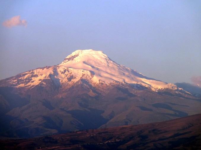 Vulcão Cayambe (foto: Wikimedia Commons)