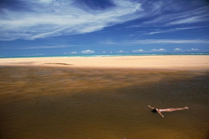 Rio dos Frades, entre Trancoso e a Praia do Espelho, no sul da Bahia (foto: Eduardo VESSONI)