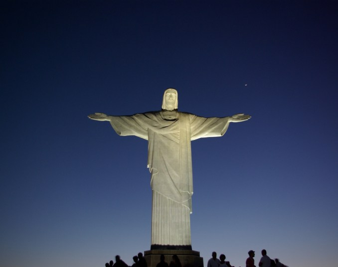 CRISTO REDENTOR: (foto: Cyro Silva/Flickr-Cerative Commons)
