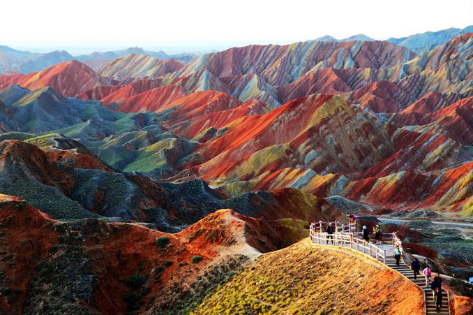 Zhangye Danxia, na China (foto: Kashif Pathan/Flickr-Creative Commons)