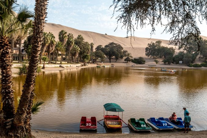 Huacachina, no Peru (foto: Eder Fortunato/Flickr-Creative Commons)