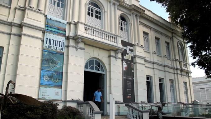 Fachada do Museu da Gente Sergipana, em Aracaju, capital de Sergipe (foto: Eduardo Vessoni)