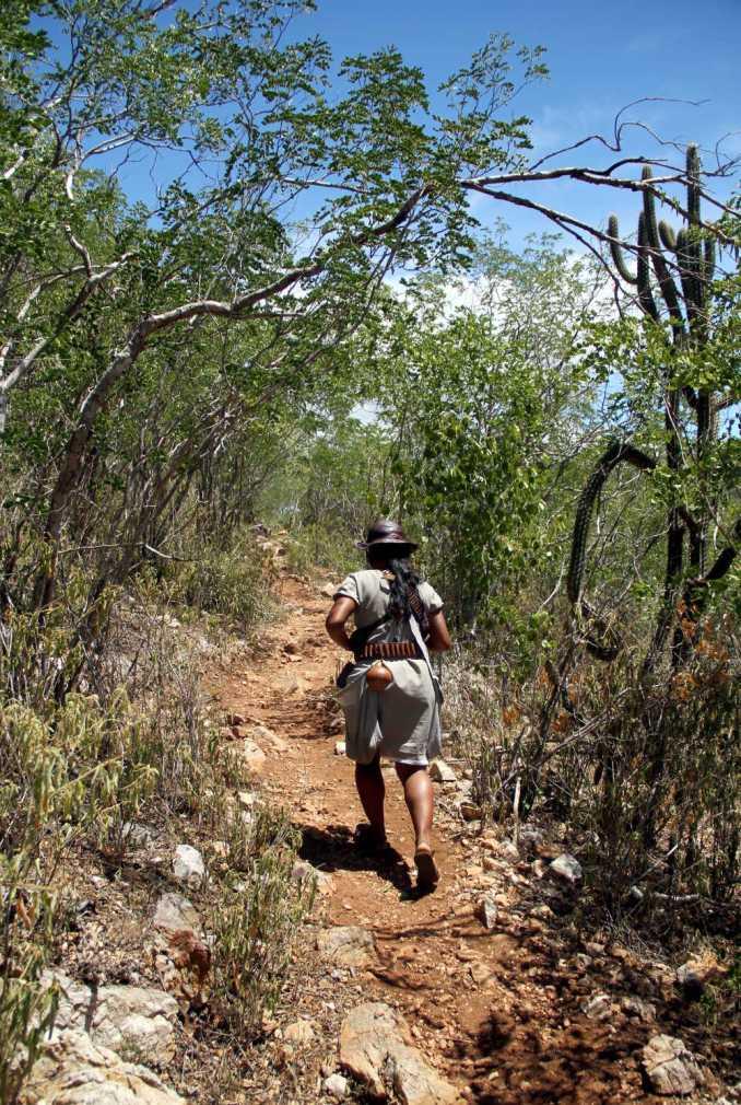 Rota do Cangaço, em direção à Grota do Angico (foto: Eduardo Vessoni)
