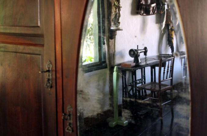 Detalhe do quarto de Cora Coralina (foto: Eduardo Vessoni)
