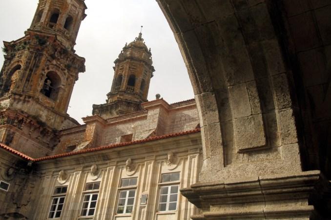 Monasterio de Santa María de Sobrado dos Monxes, na Espanha (foto: Eduardo Vessoni)