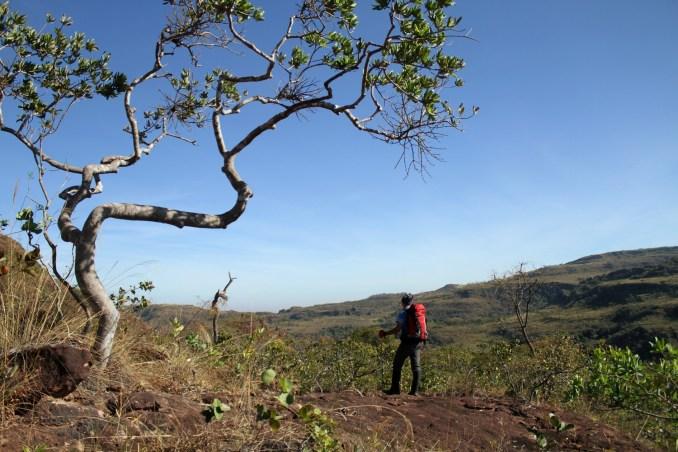 Trilha do Vale Encantado, em Goiás (foto: Eduardo Vessoni)