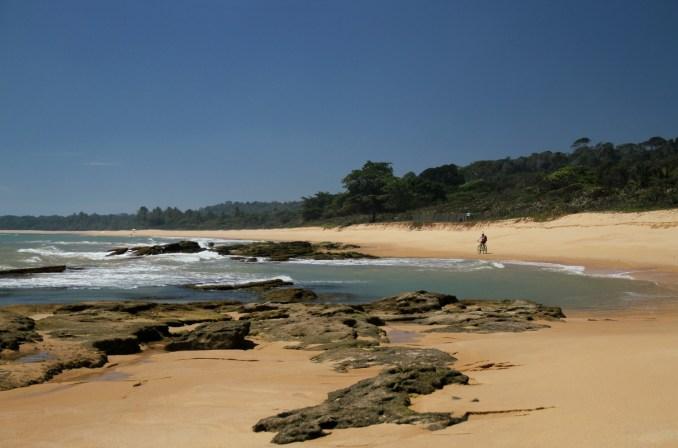 Praia de Itapororoca, entre Trancoso e a Praia do Espelho, no sul da Bahia (foto: Eduardo Vessoni)