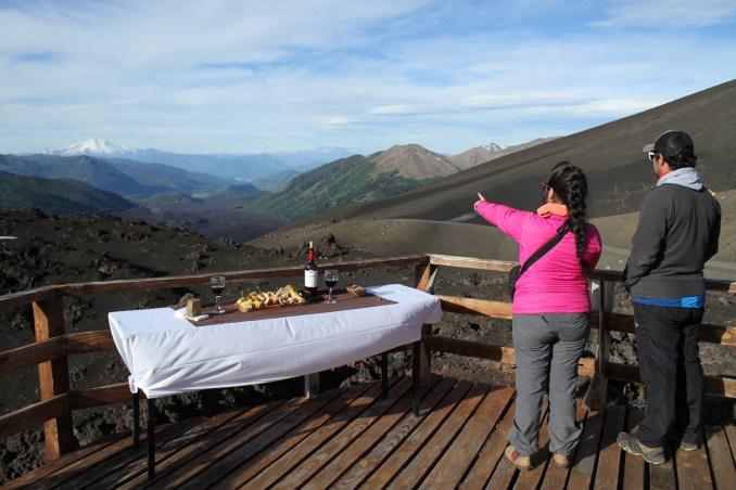 Mirador de los Volcanes, na Reserva Nacional Malalcahuello (foto: Eduardo Vessoni)