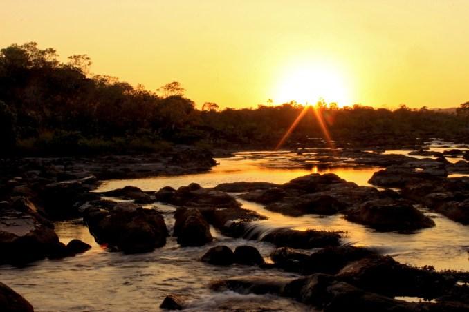 Travessia das Sete Quedas, na Chapada dos Veadeiros, em Goiás (foto: Edson Faria Junior/Wikimedia Commons)
