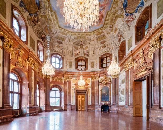 Palácio de Mármore, no Belvedere Inferior (foto: Lukas Schaller/Divulgação)