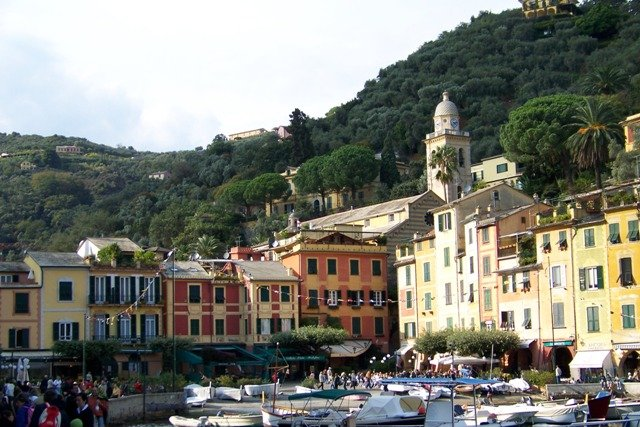 Portofino, na Ligúria, Itália