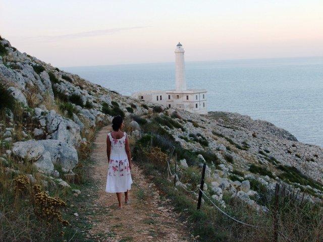 Ponta mais oriental da Itália: Farol de Ponta Palascìa. Dicas de viagem na Apúlia (Puglia)