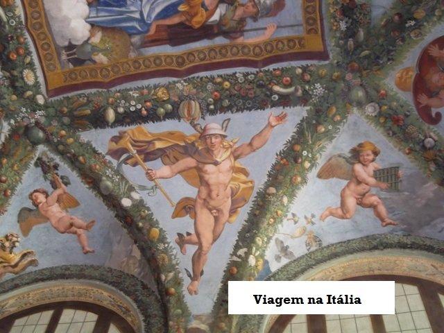 Villa Farnesina e os afrescos de Rafael Sanzio, Roma