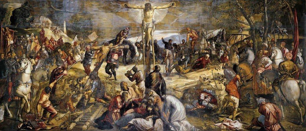 Escola Grande de São Roque em Veneza: Scuola Grande di San Rocco. Obra de Tintoretto