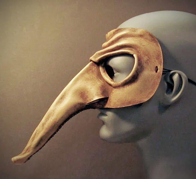 Máscaras italianas de carnaval.