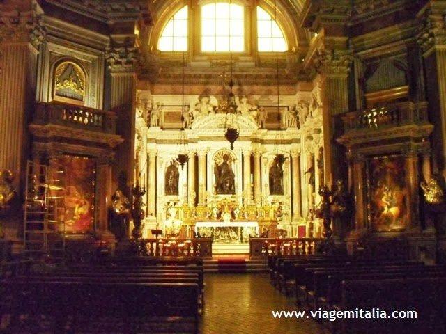 Catedral de Nápoles, sul da Itália