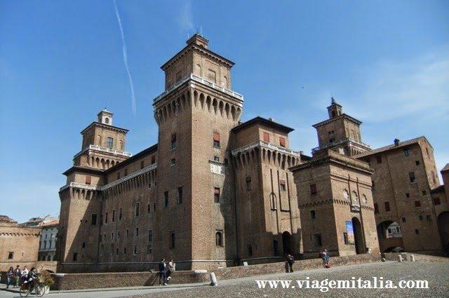 O que ver em Ferrara: Castelo Estense