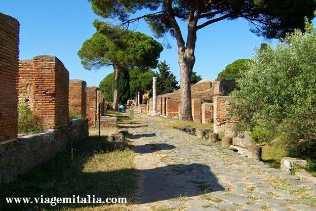 Transfers privados em português em Roma. Passeios de Roma para Ostia Antica
