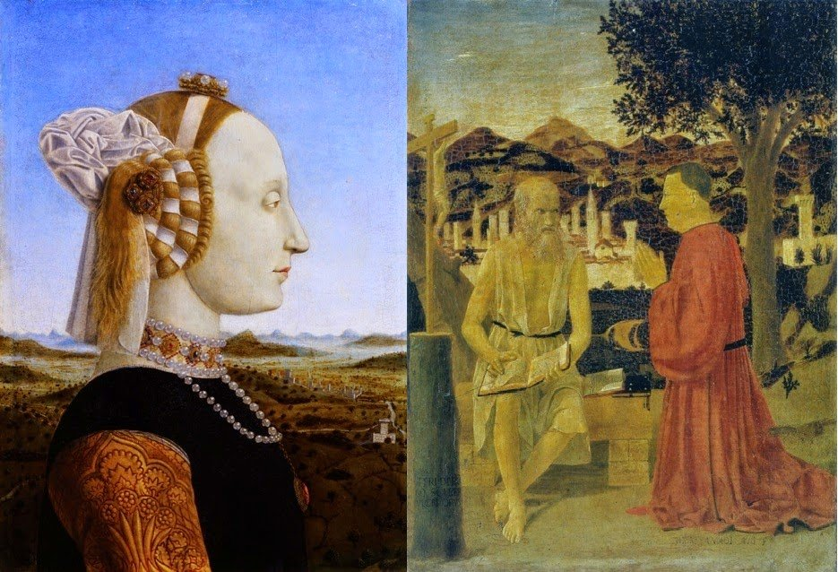Biografia e obras de Piero della Francesca na Itália