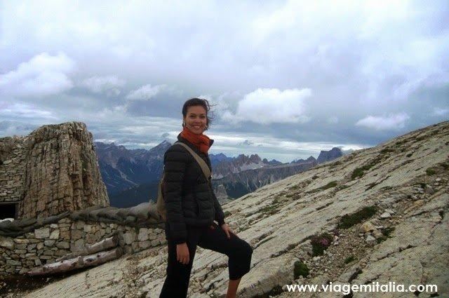 Cortina d'Ampezzo nas Dolomitas, Itália