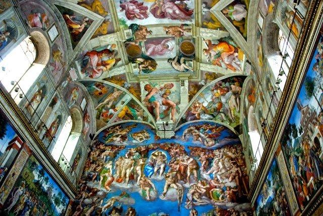 Ingressos de atrações no Vaticano: Capela Sistina