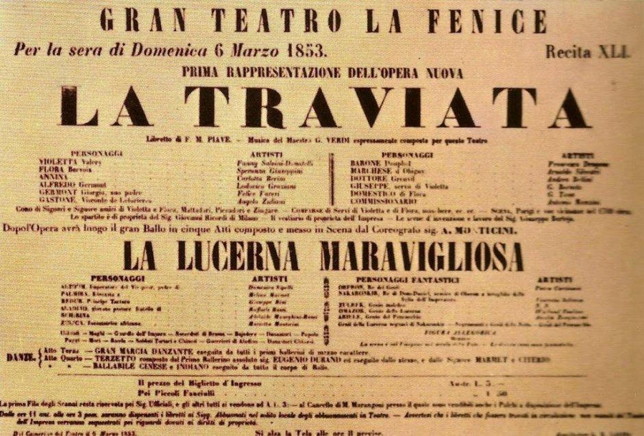 Óperas de Giuseppe Verdi. La Traviata