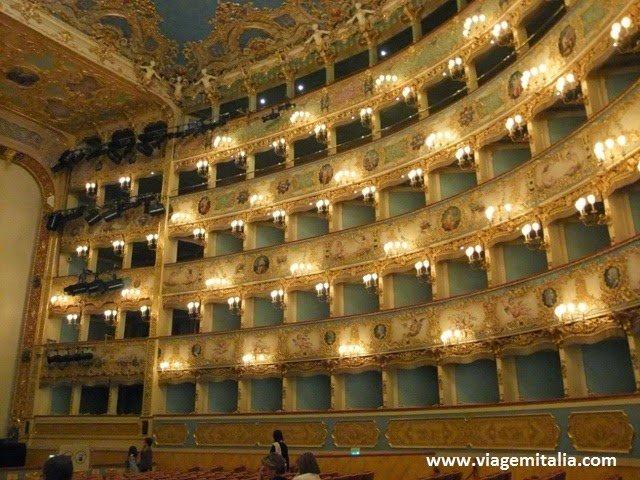 Dicas de Veneza: Teatro La Fenice, um dos mais espetaculares do mundo